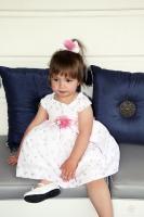 """Платье для новорожденной малышки """"Неженка"""" 3449 GG"""