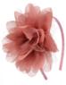 """Ободок для девочки """"Чайная роза"""" 012"""