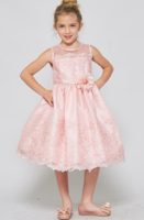 """Детское платье для девочки """"Вайлет"""" Розовое 3555"""
