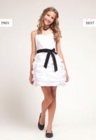 """Детское платье для девочки """"Зефир"""" Белое D-1209"""
