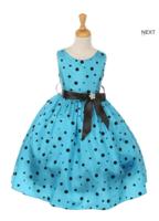 """Платье для девочки """"Мини Маусс"""" Бирюзовый 1097-3"""