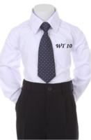 Детский галстук для мальчика Синий WT-10