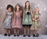 """Нарядное платье для девочки """"Звездопад"""" Розовое 400"""