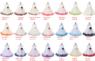 Платье для новорожденной девочки с Молочными Лепестками Роз KD-160B