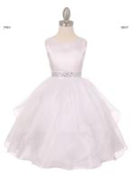 """Нарядное платье для девочки """"Бабочка"""" Белое 1198"""