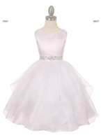 Нарядное платье для девочки Бабочка Белое 1198