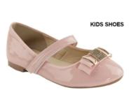 """Нарядные лаковые туфли для девочки с пряжкой Розовые """"Lov Mark"""" AA-Stacy-301"""