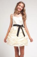 """Детское платье для девочки """"Зефир"""" Шампань D-1209"""