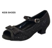 Нарядные туфли для девочки Черные ANDREA-2K