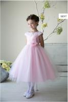 """Детское платье для девочки """"Ницца"""" Розовое D 1234"""