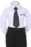 Детский галстук для мальчика Черный WT-19