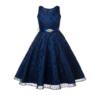 """Платье для девочки """"Хизари"""" Темно-Синее GG-3511"""