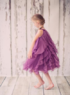 """Нарядное платье для девочки """"Амбрелла"""" Молочное 8055"""