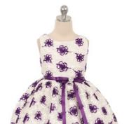 """Платье для малышки """"Облако"""" Фиолетовое 338"""