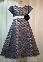 """Нарядное платье для девочки """"Беатриче"""" Синее 1608"""