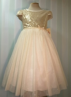 Нарядное платье для девочки Рапунцель 459