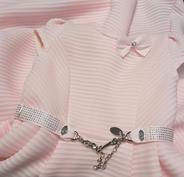 Нарядное платье для девочки Розовое 346
