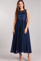"""Нарядное платье для девочки """"Ангел"""" Синее 5006"""