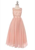 """Нарядное платье для девочки """"Ангел"""" Розовое 5006"""