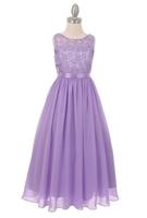 """Нарядное платье для девочки """"Ангел"""" Сиреневое 5006"""