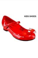 Нарядные туфли для девочки на каблуке Красные DM-MAZON