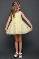 """Детское платье для девочки """"Стелла"""" Розовое 25149"""