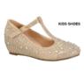 Нарядные туфли для девочки на платформе Золотые OT-BOBBY-7K