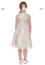 """Платье для девочки """"Коктейльное"""" Шампань KD-307"""