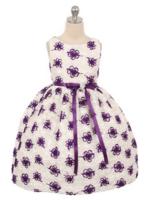"""Нарядное платье для девочки """"Облако"""" Фиолетовое 336"""