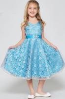 """Платье для девочки """"Хизари"""" Бирюзовое GG-3511"""