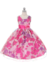 """Детское платье """"Цветочный рай"""" Фуксия GG-3282"""