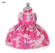 """Детское платье """"Цветочный рай"""" Фуксия GG-3282M"""