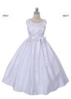 """Платье для девочки """"Кристи"""" Белое GG-3294"""