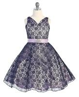 """Платье для девочки """"Хизари"""" Лавандовое GG-3511"""