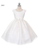 """Платье для девочки """"Бильбао"""" Молочное GG-3524"""