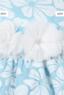 """Платье для девочки """"Бильбао"""" Бирюзовое GG-3524"""