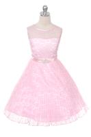"""Детское платье """"Джорджия"""" Розовое GG-3527"""