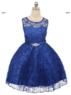 """Детское платье """"Джорджия"""" Синее GG-3527S"""