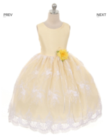 """Нарядное детское платье """"Джульета"""" Кремовый GG-3543"""
