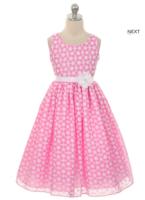 """Нарядное детское платье """"Эшли"""" Розовое GG-3545"""