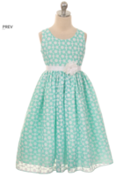"""Нарядное детское платье """"Эшли"""" Бирюзовое GG-3545"""