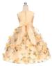 """Бальное платье для девочки """"Монпансье"""" Розовое 354"""