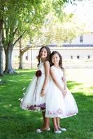 Детское платье с Бордовыми Лепестками Роз KD-160