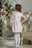 """Нарядное платье для девочки """"Франсуаза"""" Нежно-розовый 0114"""
