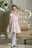 Нарядное платье для девочки Беатрис Нежно-розовый 0111