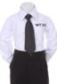 Детский галстук для мальчика Черный WT-04