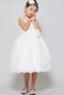 """Детское платье для девочки """"Вайлет"""" Молочное 3555"""