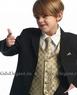 """Костюм """"Классический"""" для мальчика с золотой жилеткой KD-5006"""