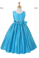 """Нарядное платье для девочки """"Монтана"""" Голубое 6337 KK"""