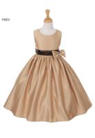 """Нарядное платье для девочки """"Монтана"""" Шампань 6337 KK"""
